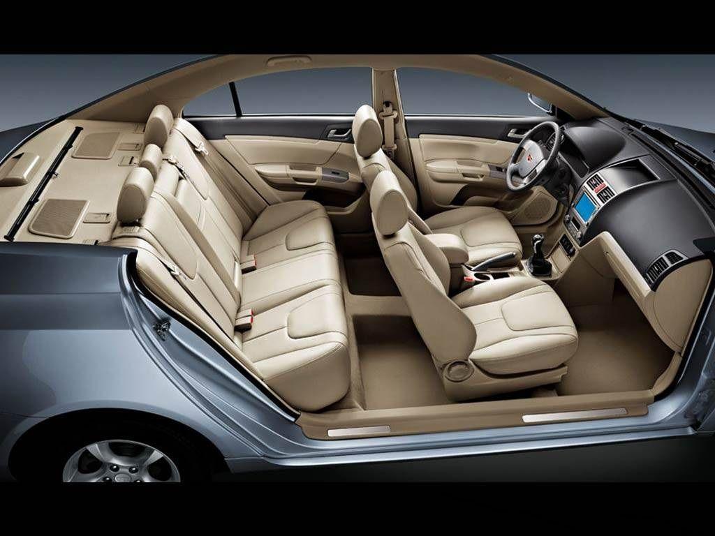 نمای داخلی خودرو EC7
