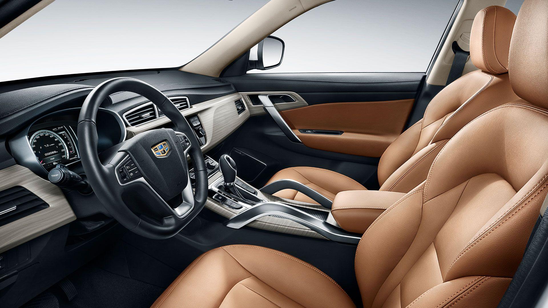 نمای داخلی خودرو X7